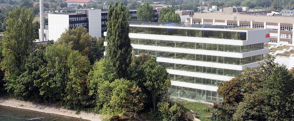 Visualisierng des neuen Gebäudes in Turgi. Bild: ABB