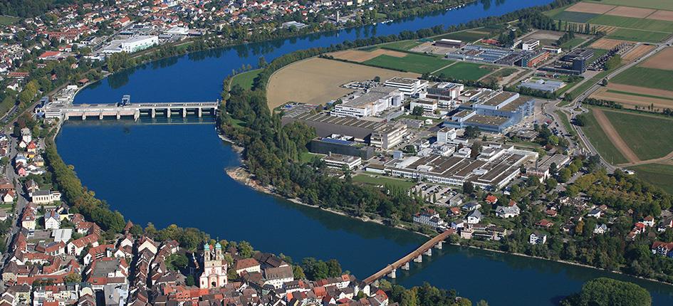 Standort von Novartis in Stein. Bild: Novartis